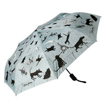 Gorey Raining Cats & Dogs Umbrella