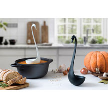 Swanky the Swan Floating Ladle