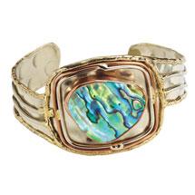 Abalone Cuff Bracelet