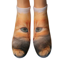 Kitty Cat Ankle Socks