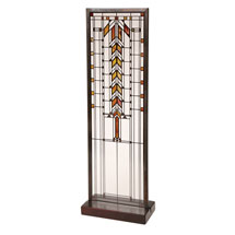 Frank Lloyd Wright® Art Glass Panels - Barton House Buffet Door