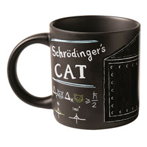 Schrödinger's Cat Mugs Set