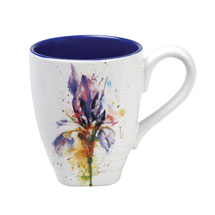 Watercolor Flower Mugs