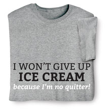 Personalized I Won't Give Up Shirts