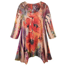 Poppies Tunic