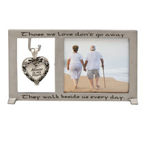Those We Love Memorial Frame and Ashes Ornament