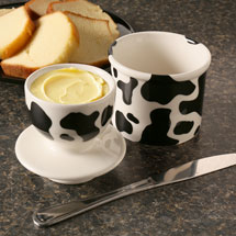 Cow Pattern Butter Bell®