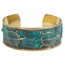Box Turtle Cuff Bracelet