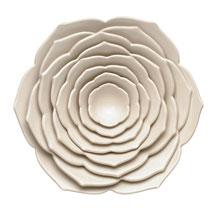 Lotus Stoneware Nesting Bowls