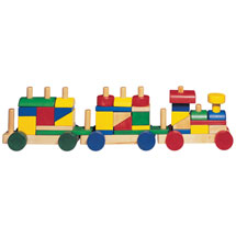 Cheery Choo Choo Wooden Stacking Train Set