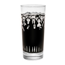 Edward Gorey Cocktail Hour Glasses Set