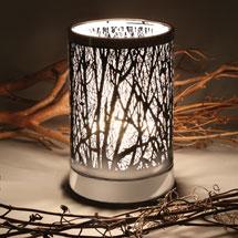 Winter Trees Touch Sensor Lamp