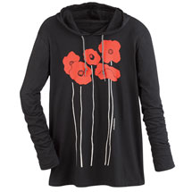 Marushka Poppies Hooded Tee