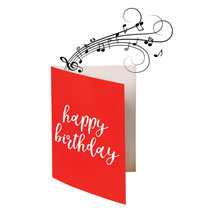 Endless Singing Birthday Joke Card