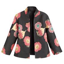 Simple Elegance Poppies Jacket
