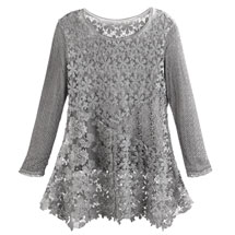 Gray Gardens Lace Tunic
