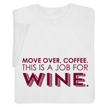 A Job for Wine Shirts