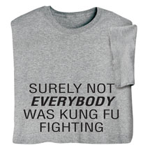 Kung Fu Fighting Shirts