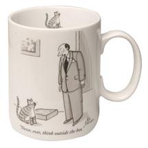 New Yorker Cartoon Mug - Never Think Outside the Box