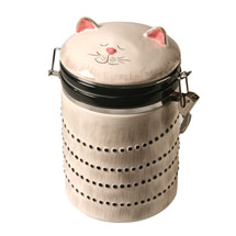 Ceramic Cat Jar