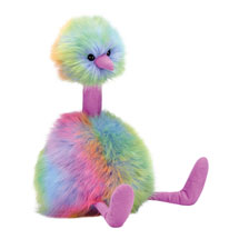 Rainbow Pompom Plush
