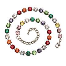 Rainbow Crystal Necklace