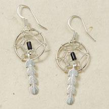 Navajo Dreamcatcher Earrings