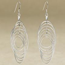 Interlocking Loop Earrings