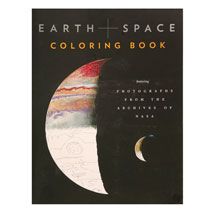 Earth Space Coloring Book