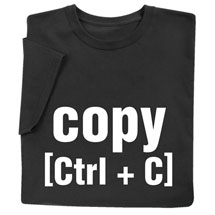 Copy and Paste Parent and Child Shirts