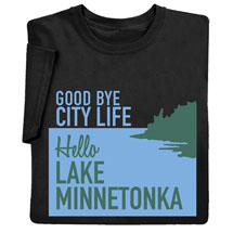 Personalized Goodbye City Life Shirts