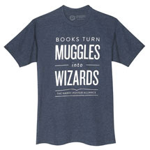 Books Turn Muggles into Wizards T-Shirt