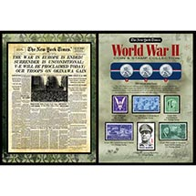 The New York Times World War II Coin & Stamp Collection