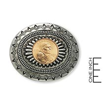 Sacagawea Golden Dollar Belt Buckle