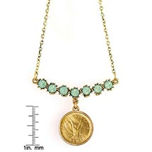 Angel Coin Swag Necklace