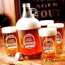 Brewery Growler Set