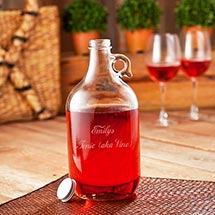 Wine Jug with Glasses