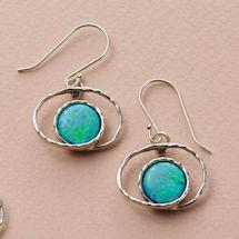 Opal in Orbit Earrings