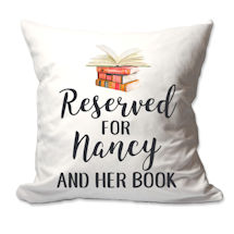 Personalized Reserved For Pillow