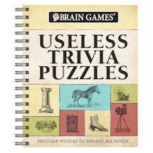 Useless Trivia Puzzles Brain Games Book