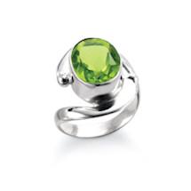 Krystala Peridot Ring