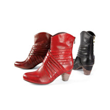 Torero Pleated Ankle Boots