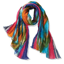 Northern Lights Handmade Scarf