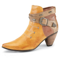 Elinore Colorblock Booties