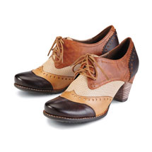Bardot Heeled Brogues