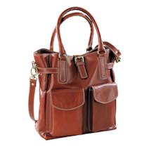 Trija Leather Shoulder Bag