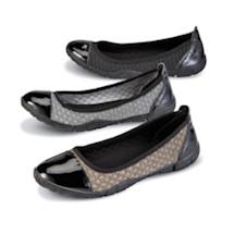 Emmeline Elastic-Weave Flats