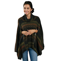 Double-Zip Pullover Poncho