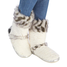 Faux Fur Lola Slipper Boot