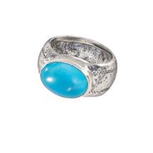 Ellipse Turquoise Ring